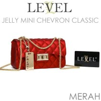 Tas Level Jelly Doff Mini Chevron Classic