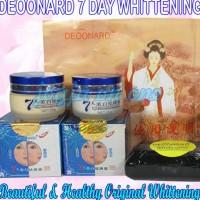 Deoonard 7 days whitening Cream 100% Original Cream pemutih wajah
