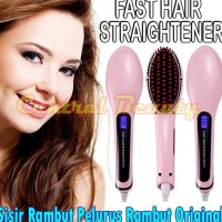 alat catok rambut terpercaya fast hair Straightener sisir laser