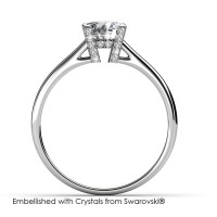 Her's Ring - Cincin Crystals Swarovski® by Her Jewellery