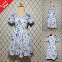 Baju kaos dress terusan branded import bangkok cewek wanita murah 0184