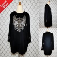 Baju kaos dress terusan branded import bangkok cewek wanita murah 0185