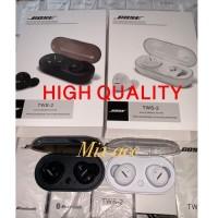 Headset bluetooth BOSE TWS Wireless earphone bluetooth Isi 2 TWS - Hit