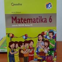 Matematika 6 Untuk SD/MI Kelas VI Quadra