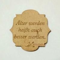 AThiToShop Magnet Kulkas Pepatah Bahasa Jerman Souvenir Eropa