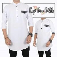 Harga promo baju terbaru kemeja koko tom batik fashion muslim pria | antitipu.com
