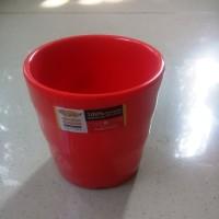 Gelas Teh JS1 210ml Merah Melamine - Golden Dragon B0701