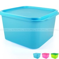 Dua Toples Plastik 2.5 Liter - Food Container - Sealware set - Kotak