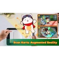 Game Anak Sholeh- Kartu AR 3D wudhu dan solat - Mainan Edukasi Anak Ma
