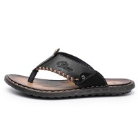 Mens Sandals Toe Shallow Summer Shoes Anti-slip Slippers