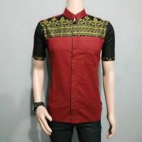 Harga batik pria kombinasi model | antitipu.com