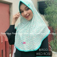 jilbab MM kerudung dewasa Wild Rose