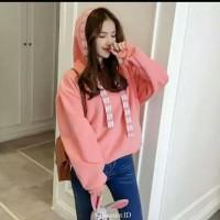 Jual Kualitas Terbaik Sweater Jaket Korea Cewek Wanita Abg Tambora Ludopedia Tokopedia