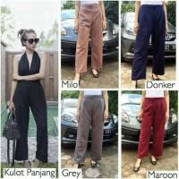 Celana Kulot 3R Panjang: Bahan Scuba: Size M, L, XL, XXL, dan XXXL
