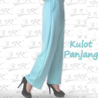Kulot Panjang - Celana Wanita Scuba - Formal/Kantor - S - M - L - XL