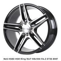 READY Velg Mobil Murah NE5 H580 HSR Ring 16 Untuk Mobil Nissan March