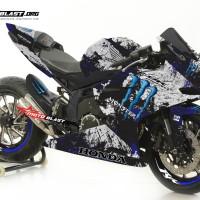 Decal Stiker CBR250RR Monster Blue