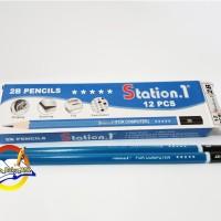 PENSIL 2B STATION.1 ( 1 PACK ISI 12 PCS )