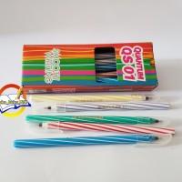 Pen / Bolpen/ Pulpen/ Ballpoint/ Pena Quantum QS 1 - 1 Pack (12 Pcs )