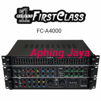 Professional Audio Amplifier FirstClass FC-A4000