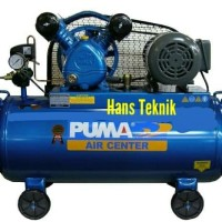 Kompresor PUMA 1 HP Dinamo listrik Pompa Angin 1 PK Original