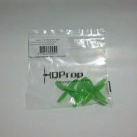 HQ Micro Whoop Prop 1.6x1.6x4 for 1.5mm shaft (1 Set) Green