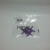 HQ Micro Whoop Prop 1.6x1.6x4 for 1.5mm shaft (1 Set) Purple