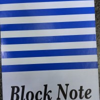 Buku Block Note A5 murah PRIMA biru/buku tulis/ notes / catatan