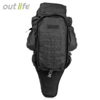 Tas Ransel Outdoor Hiking Camping Military 60L - 8045DLX - HITAM