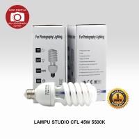 LAMPU STUDIO CFL 45W 5500K