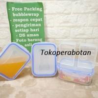 Wadah Makanan Kipit TTR 10 (Sekat)/ Lunch Box / Sealware / Kotak Makan