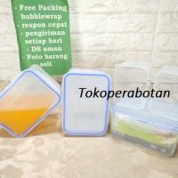 Wadah Makanan Kipit TTR 20 (Sekat / Lunch Box / Sealware / Kotak makan