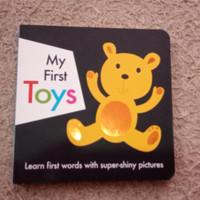 My First Toys - Buku Anak Bayi Board Book