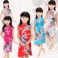 Bayar Tempat Dress Cheongsam Qipao Cina Retro Motif FL-3592-NP