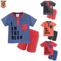 MacBear Kids Baju Anak Setelan The Hero FL-0231-NP