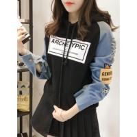 BESS Jacket Sweater Hoodie Combi ARCHETYPIC FL-1355-NP