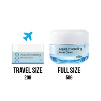 langsre original korea aqua hydrating power cream travel size 20gram