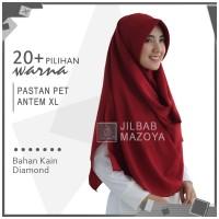 Jilbab Pashmina Instan Pet XL / Pastan Pet Zakia Sala Diamond Crepe XL