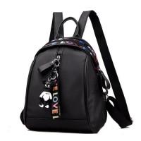 tas ransel wanita tas punggung backpack micro tas love tas wanita