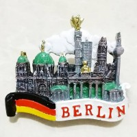 Magnet Kulkas Resin Berlin Jerman