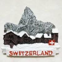 Magnet Kulkas Gunung Swiss