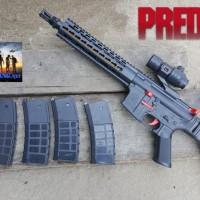ar15 predator force black