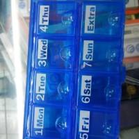 Kotak Obat 7 hari / Tempat Obat tablet /