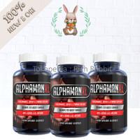 AlphaMAN Alpha Man XL Male Pills Suplemen Energi Stamina Pria 60 Caps