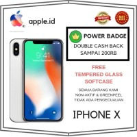 [TERMURAH] IPHONE X 64GB 64 GB SILVER GARANSI INTERNASIONAL APPLE