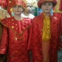 baju adat Palembang anak //Lk/Pr