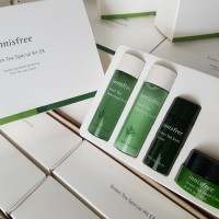 [NEW] INNISFREE Green Tea Special Kit EX 4 Items - Double Squeezed