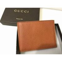 Dompet pria Gucci aman all card brown original