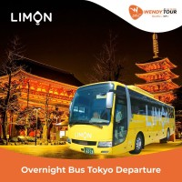 Voucher Bus Malam Jepang Tokyo ke Osaka (One Way)