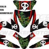 Stiker Motor All New Beat Panda Grade A